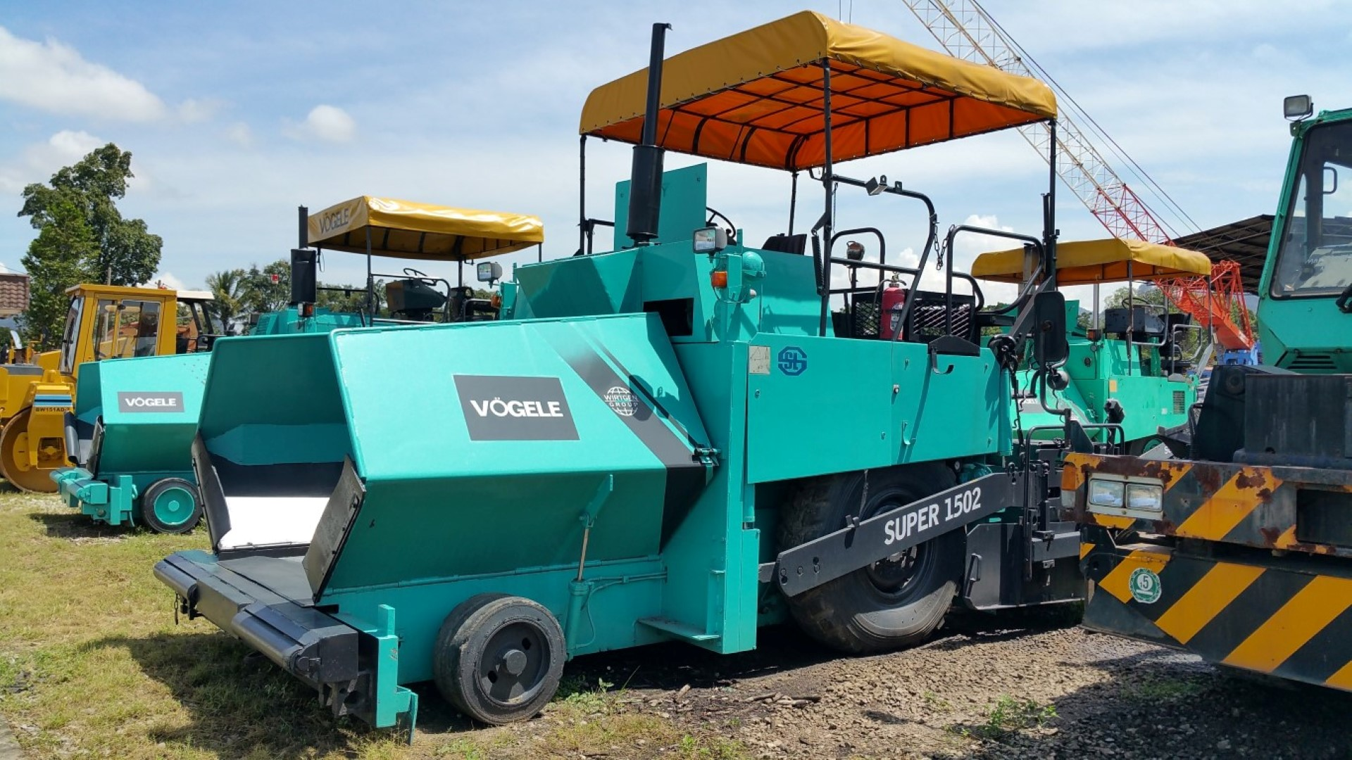 VOGELE S1502 ASPHALT PAVER
