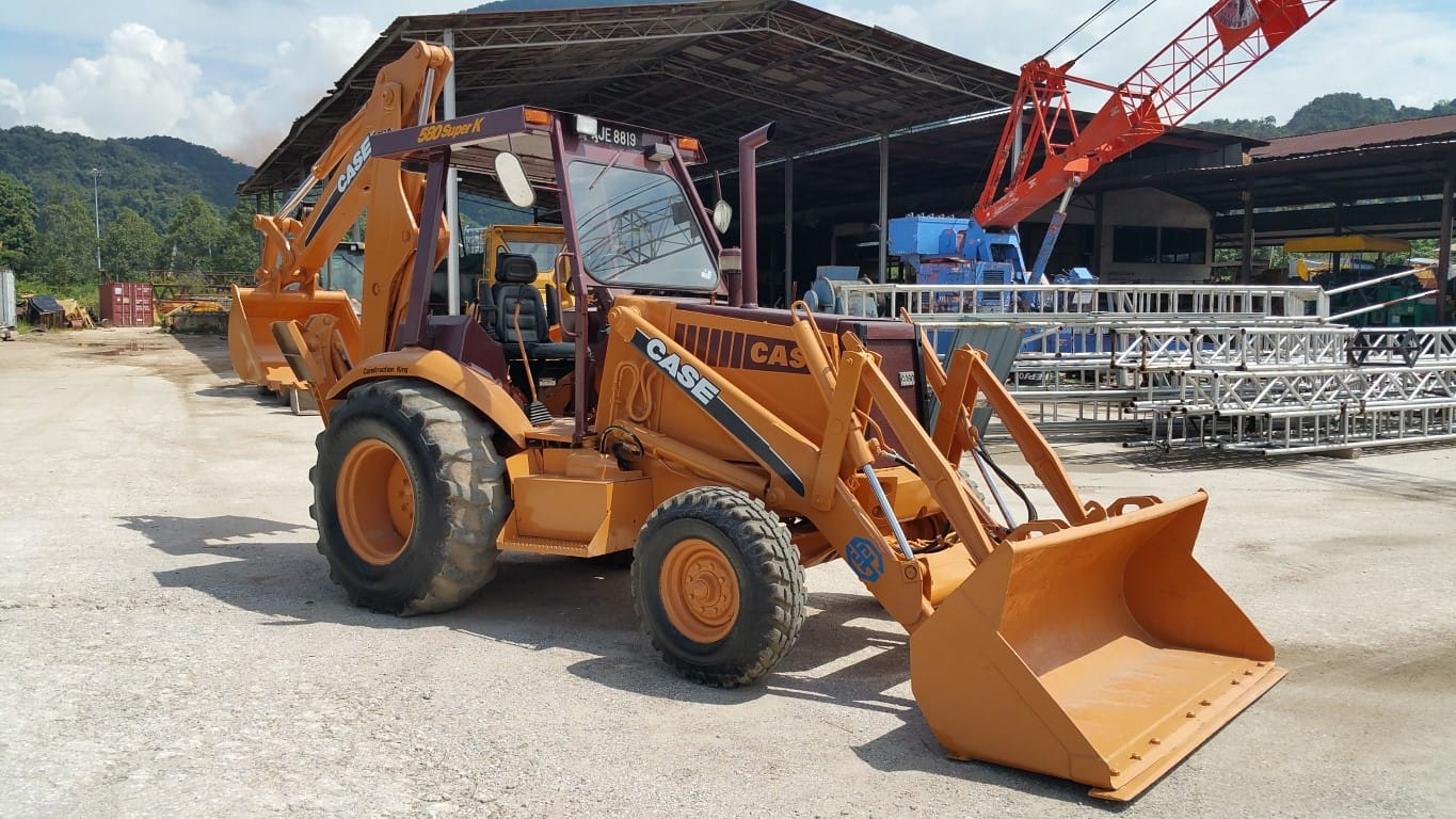 CASE 580 SUPER K Backhoe Loader
