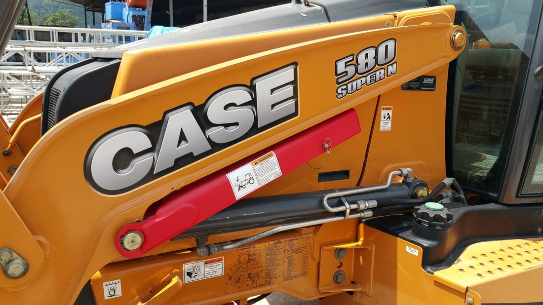 CASE 580 SUPER N Backhoe Loader