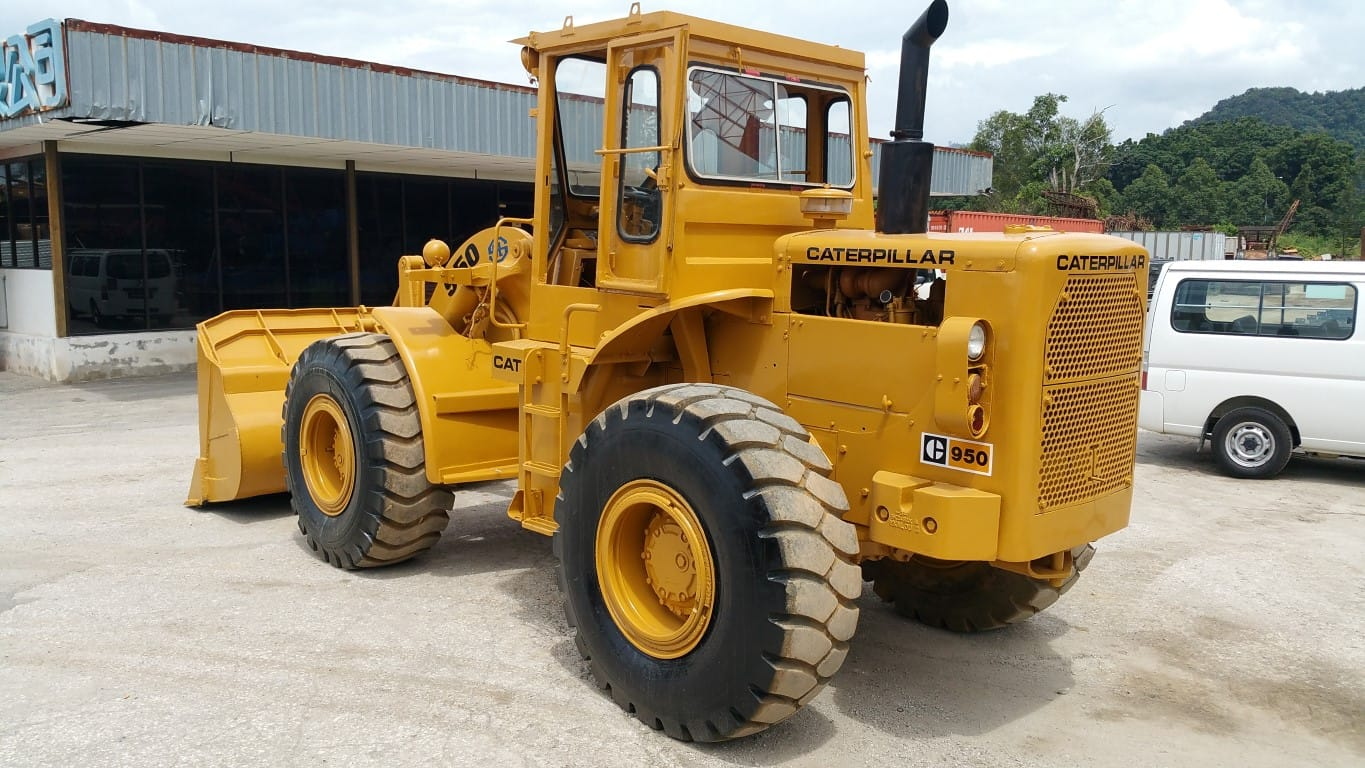 SOLD OUT  -  CATERPILLAR 950 Wheel Loader